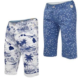 Mens Cargo Bermuda Shorts