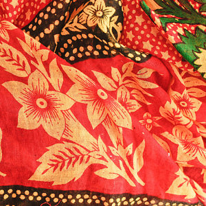Printed Dyed Cotton Fabric
